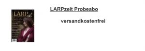 """Fachzeitschrift """"LARPzeit"""" für Mitglieder"""
