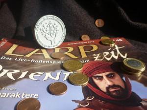 LARPzeit, Stempel, Münzen