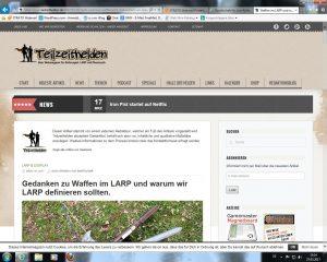 Waffen im LARP – Artikel auf Teilzeithelden.de