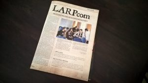LARPzeit-Artikel über die LARPcom 2017