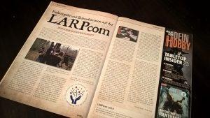 LARPzeit-Artikel zur LARPcom 2018